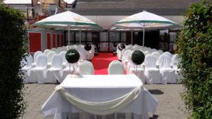 Hochzeit draussen