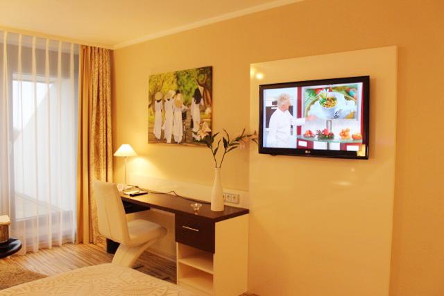 Home Office im Hotel