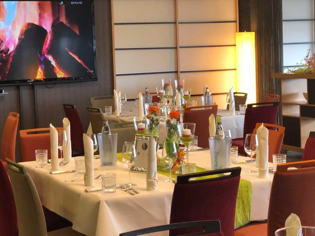 Candle-light-dinner im Hotel Scheidberg